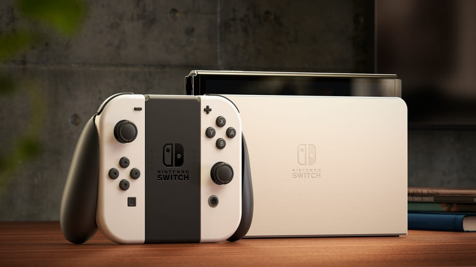 Nintendo switch oled Naslovna