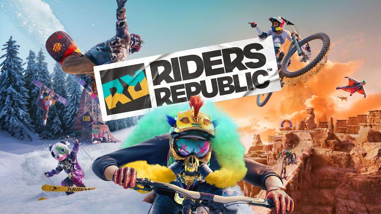 Riders Republic Naslovna