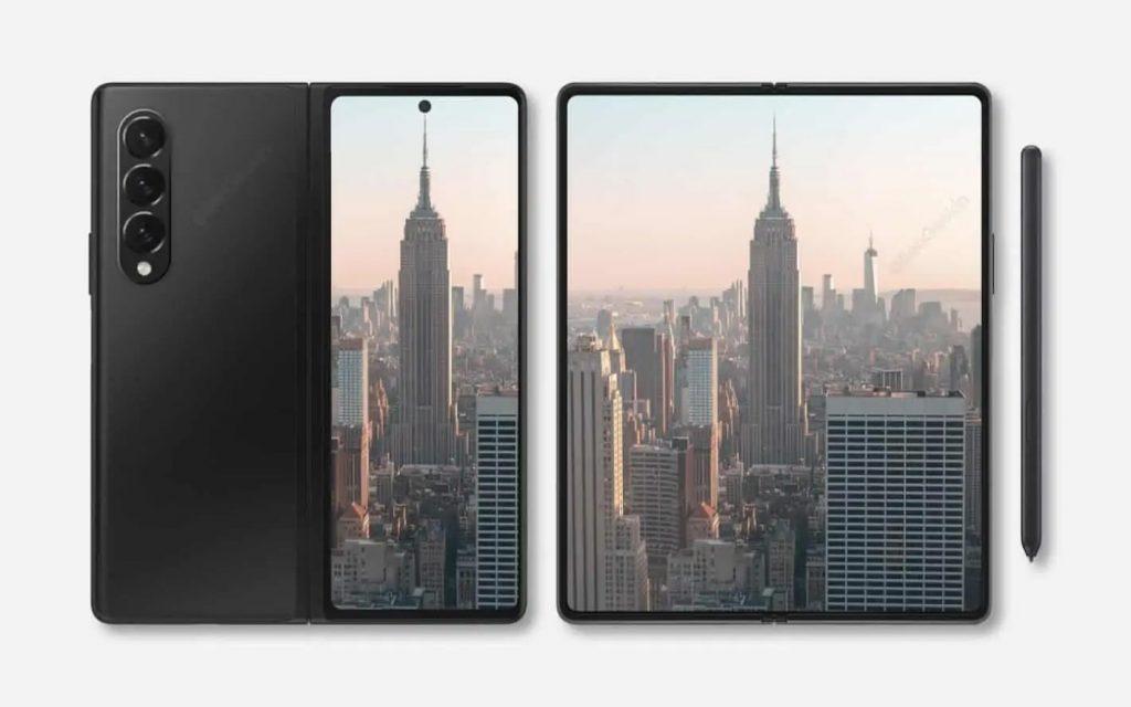 Samsung Galaxy Z Fold 3 Deisgn
